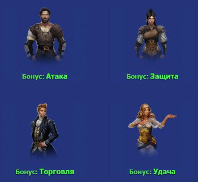выбор персонажа в игре странники